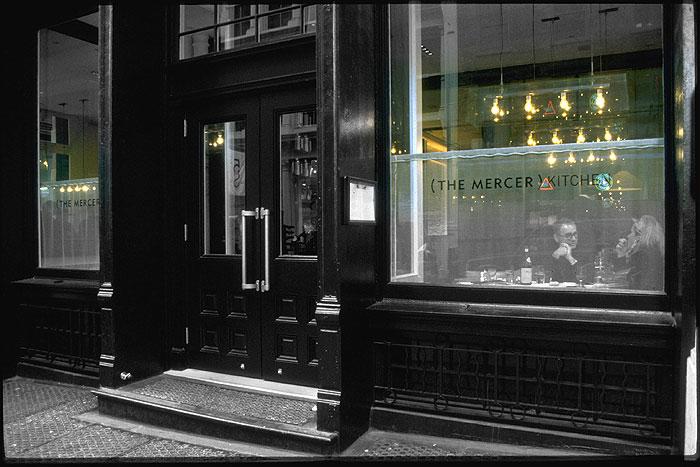 Ansicht des New Yorker Restaurants The Mercer Kitchen