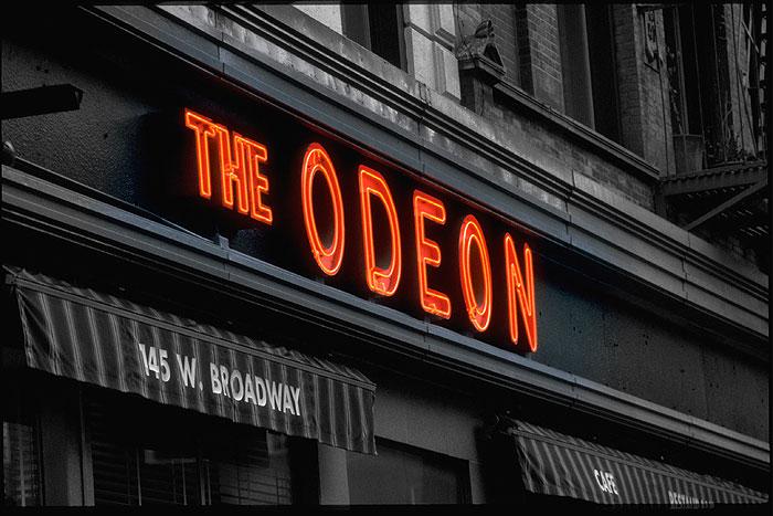 Ansicht des New Yorker Restaurants The Odeon
